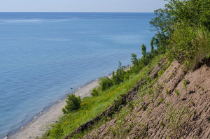 Bluff_over_Lake_Michigan_-_Lion's_Den_Gorge_Nature_Preserve_in_Grafton_Wisconsin
