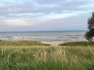 photo of Lake Michigan in Manitowoc WIsconsin