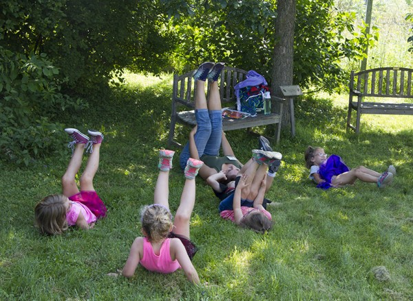 kid bfly yoga