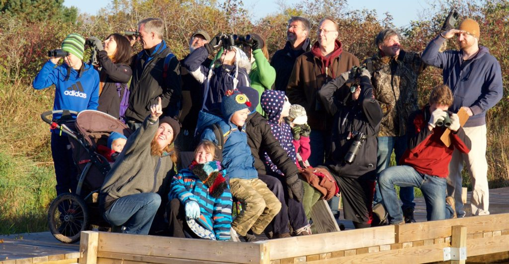 photo of Young Birders of WI group