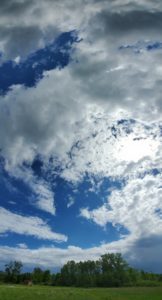 photo of whispy clouds