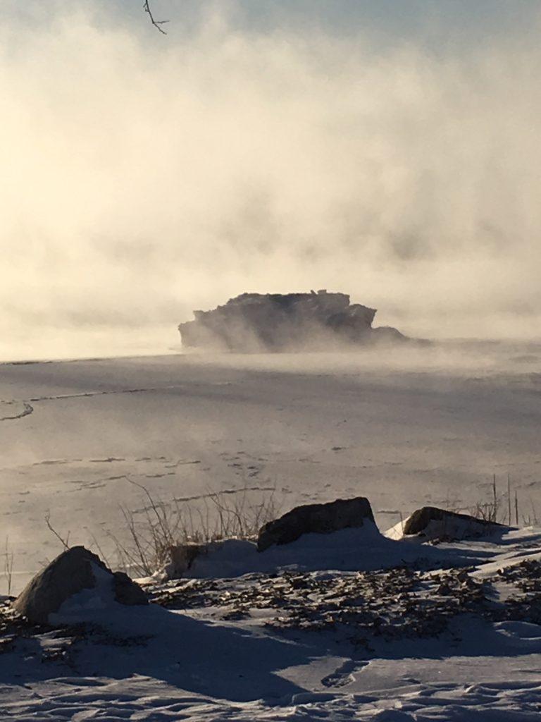 photo of Lake ice on Lake Michigan